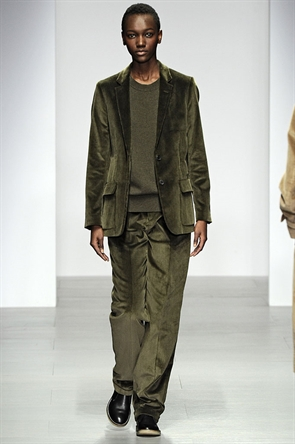 Olive will most definitely be hot this A/W after seeing it at the Margaret Howell show.