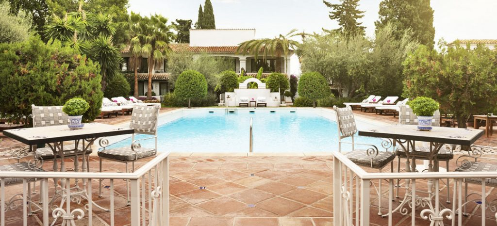 Marbella Club Garden Pool Restaurant Lulu Williams