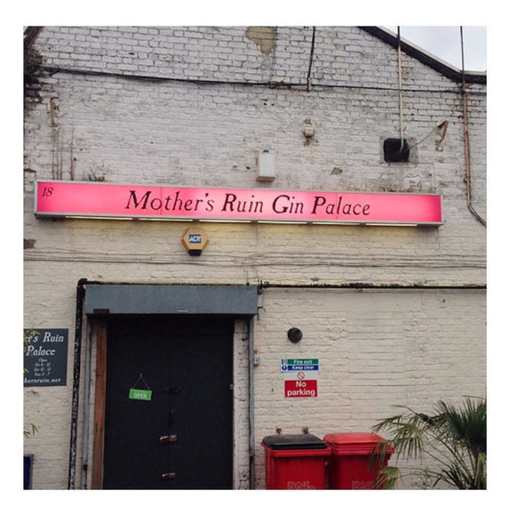 mothers ruin gin palace walthamstow east london essex brandy where to go bars pubs where to eat lulu williams guide blogger www.luluwilliams.com